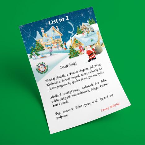 List od Świętego Mikołaja 2