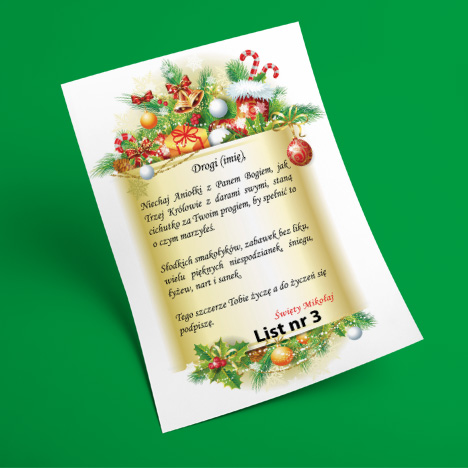 List od Świętego Mikołaja 3