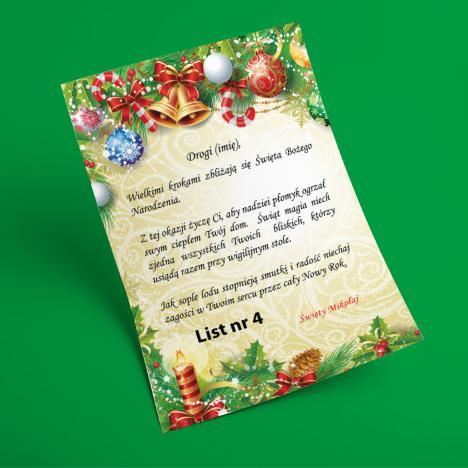 List od Świętego Mikołaja 4
