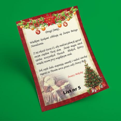 List od Świętego Mikołaja 5