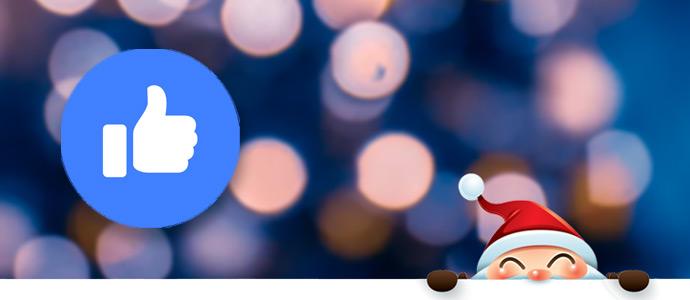 Święty Mikołaj na Facebooku
