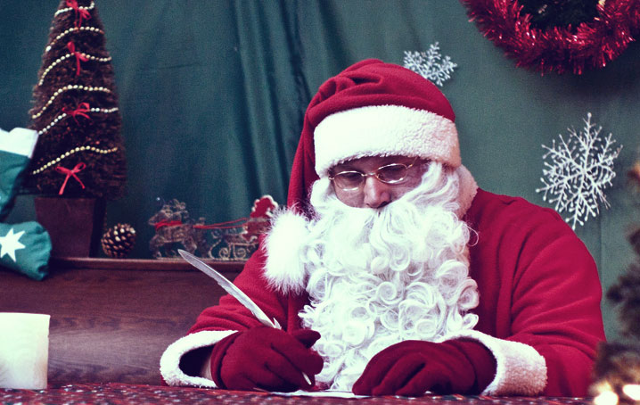 Skrzynka pocztowa Świętego Mikołaja